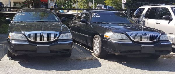 2011 Lincoln Town Cars L-Series $2,495 each