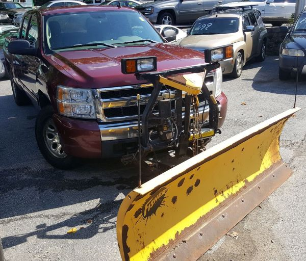 2009 Chevy with Plow $7,995